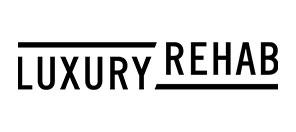 Luxury Rehab JPEG logo on white background